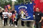 Oxfordshire Fire Brigades Union attended the second anniversary of the Grenfell fire tragedy