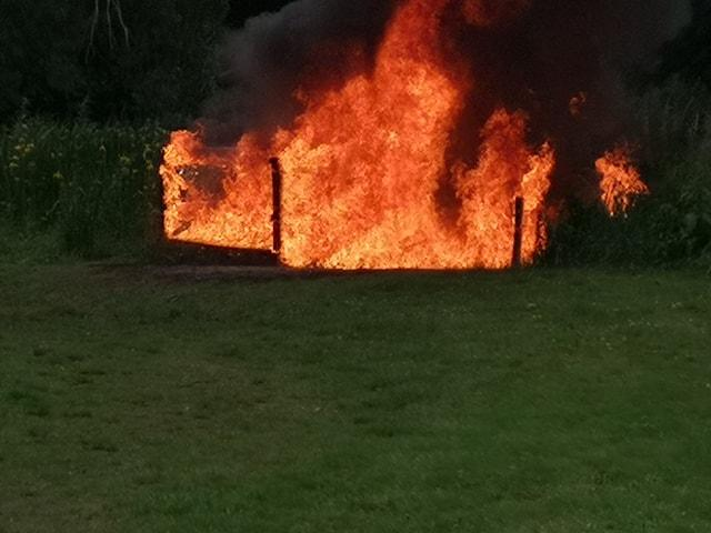 Arsonists target nature park