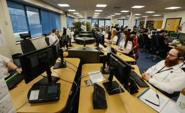 Thames Valley Police call handlers