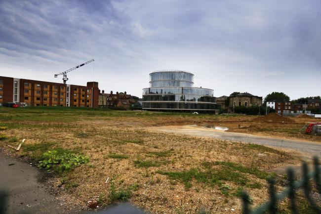 Oxford University is today revealing plans to build a massive new complex of buildings in this vacant lot in the Radcliffe Observatory Quarter.18/06/2019Picture by Ed Nix