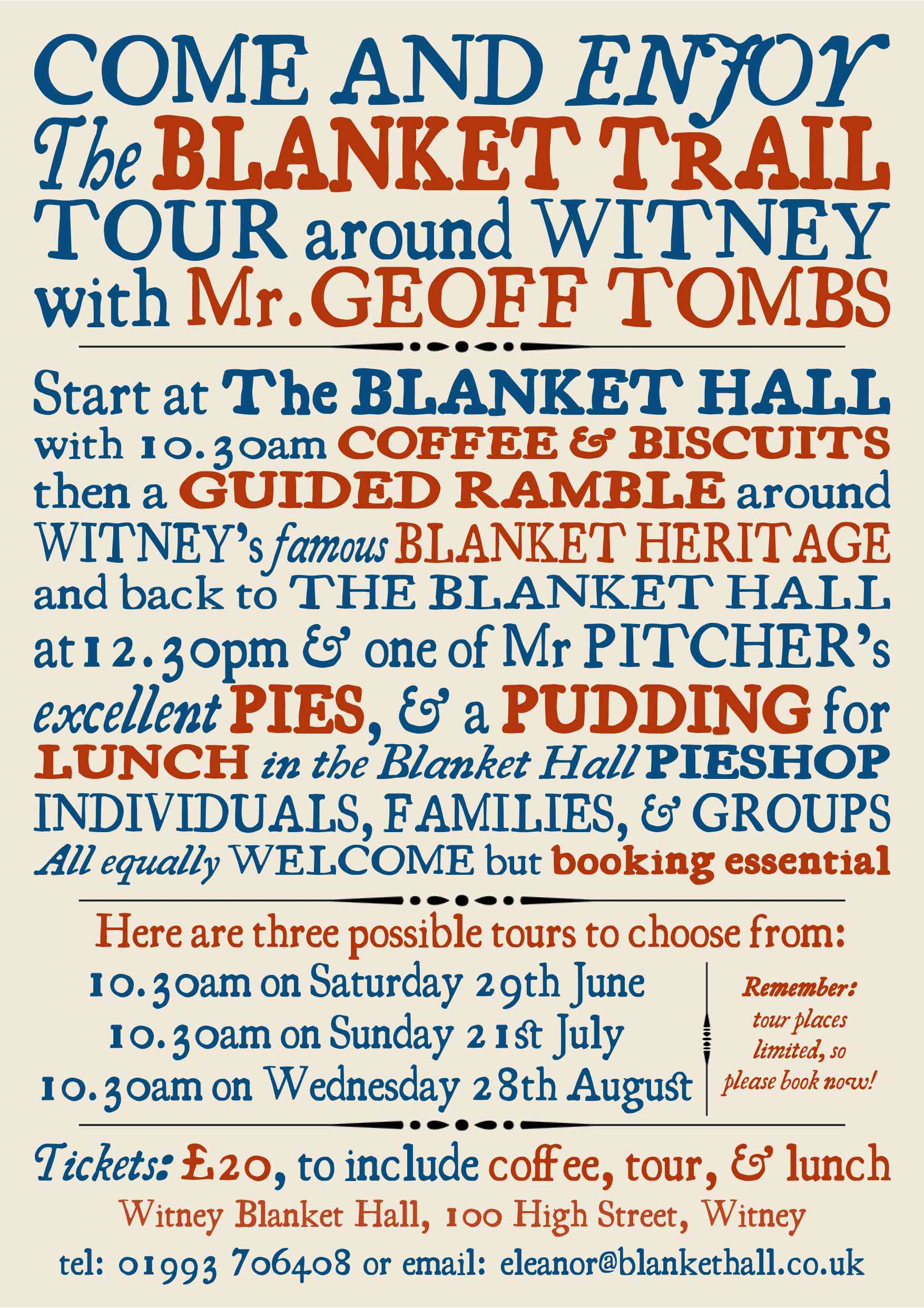 Walking Tour of Witney