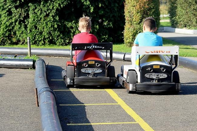 Go-karting will be among the activities on offer (stock image)