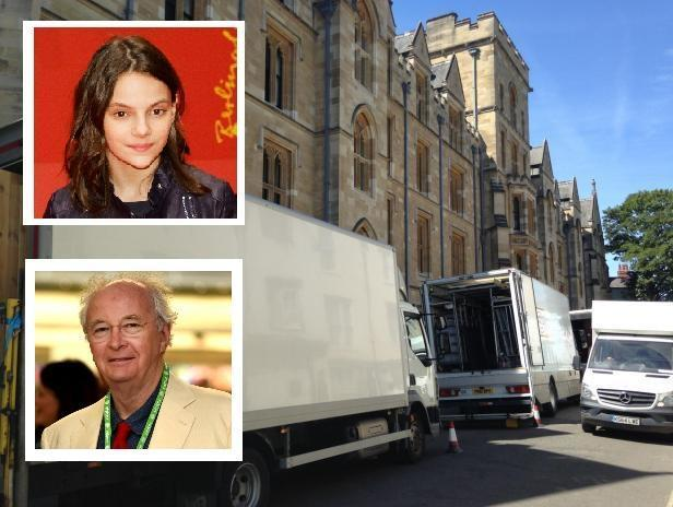 Filming for His Dark Materials took place in Oxford