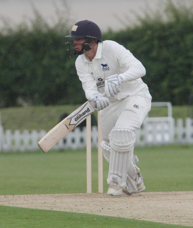 Jordan Garrett top-scored with 54 for Oxfordshire