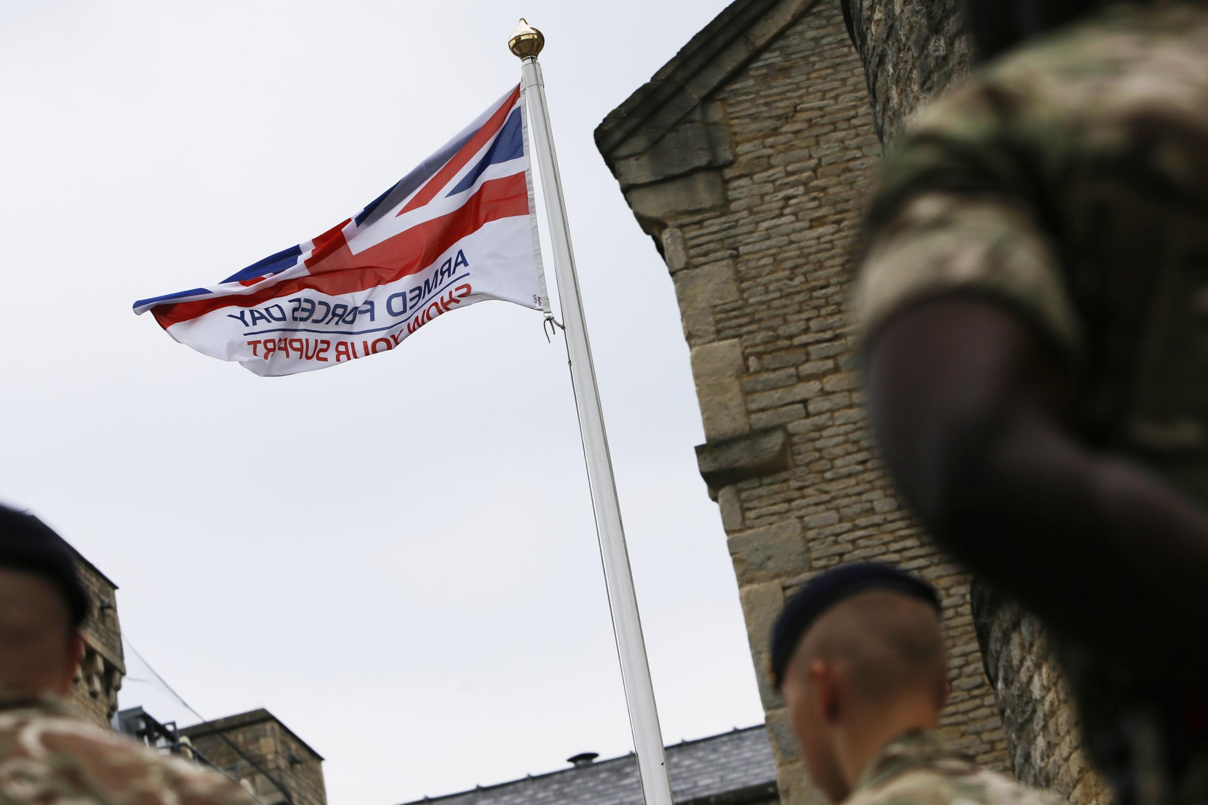 Oxfordshire council raises flag for Armed Forces Day
