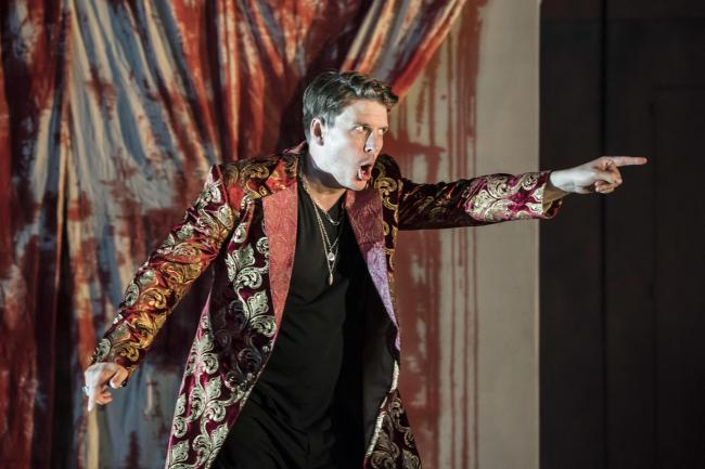 Jonathan McGovern as Don Giovanni. Picture by Johan Persson