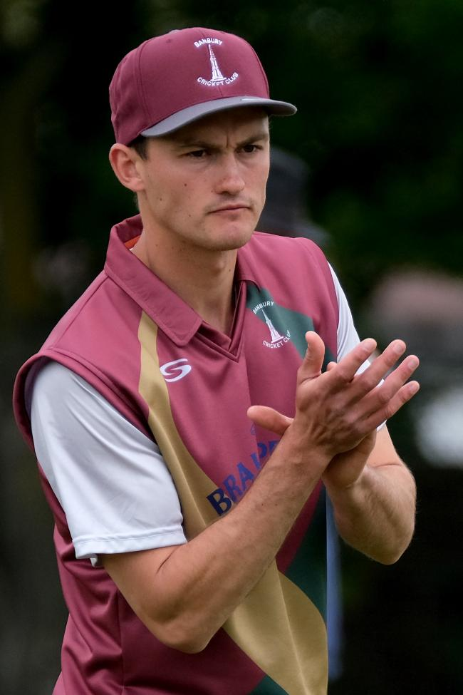 Banbury skipper Lloyd Sabin scored his first half-century of the season last week