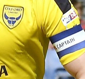 Oxford Utd armbandPicture by: David Fleming