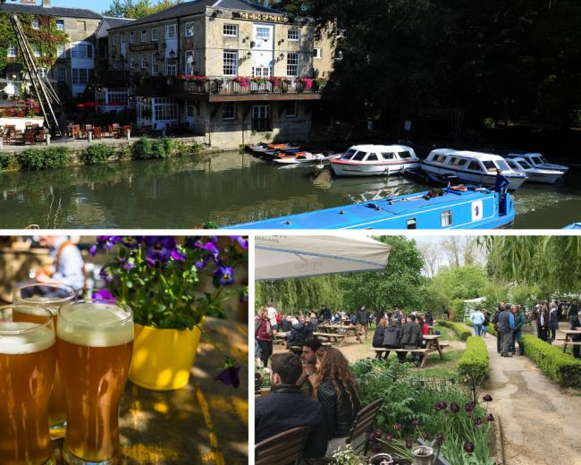 Which Oxford Pubs Have A Nice Garden Oxford Mail