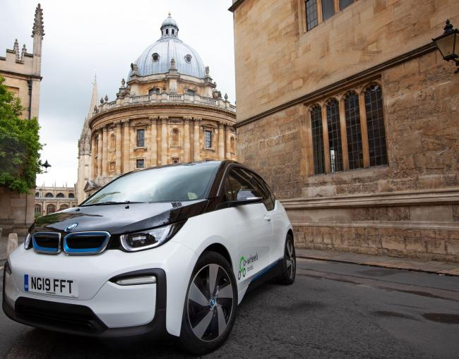 Co-wheels has launched 10 new BMW i3s Picture markbassett.co.uk