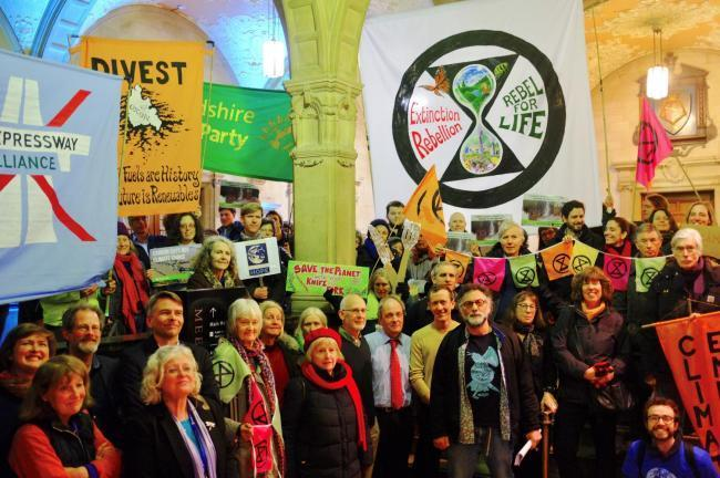 Vale of White Horse District Council followed the lead of Oxford City Council to declare a 'Climate Emergency'. Picture: Mati Warwick