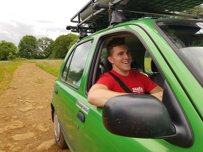 Daniel Satch is taking on the Mongol Rally later this month