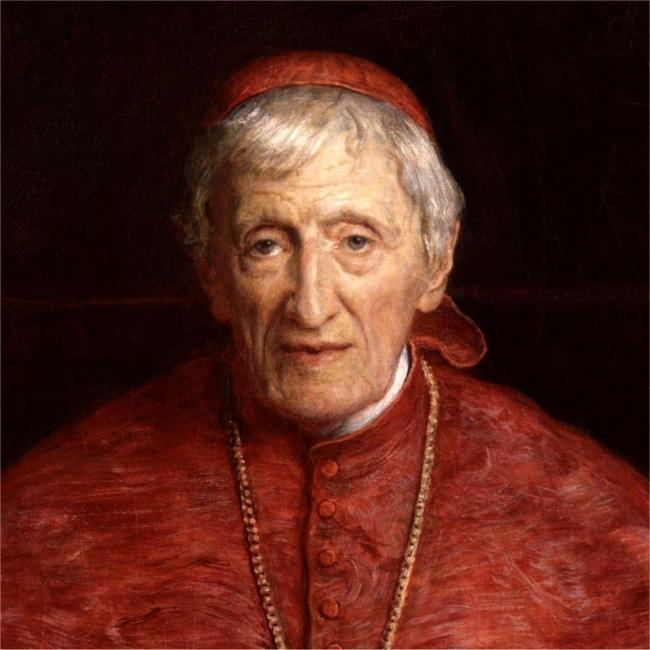 Cardinal Newman's portrait from the National Portrait Gallery Picture National Portrait Gallery