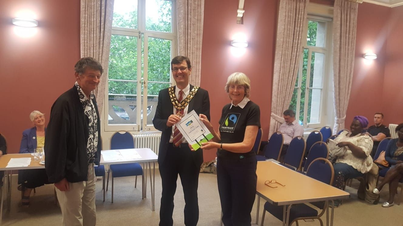 Witney retains Fairtrade status at town council ceremony