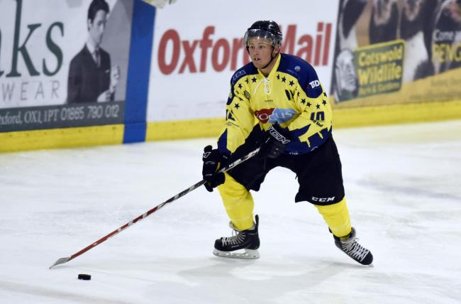 Jake Florey has agreed to stay with Oxford City Stars