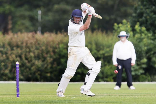 Harry Smith is unbeaten on 75 in Oxfordshire's second innings heading into the final day at Sidmouth CC Picture: Ed Nix