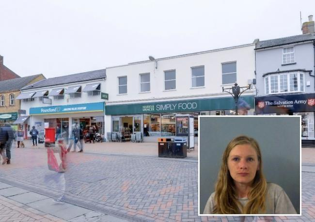 Woman banned for ALL shops in town centre