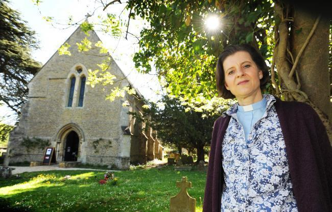 Rev Margreet Armitstead of St Mary and St Nicholas Church Picture Oxford Mail