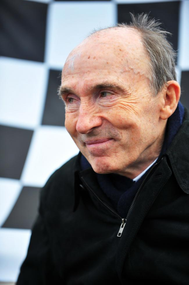 Sir Frank Williams, founder of the Williams F1 motor racing team, in 2012. Picture: Jon Lewis