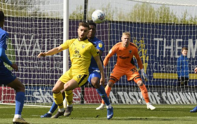 Luke Garbutt in action for Oxford United last season Picture: David Fleming