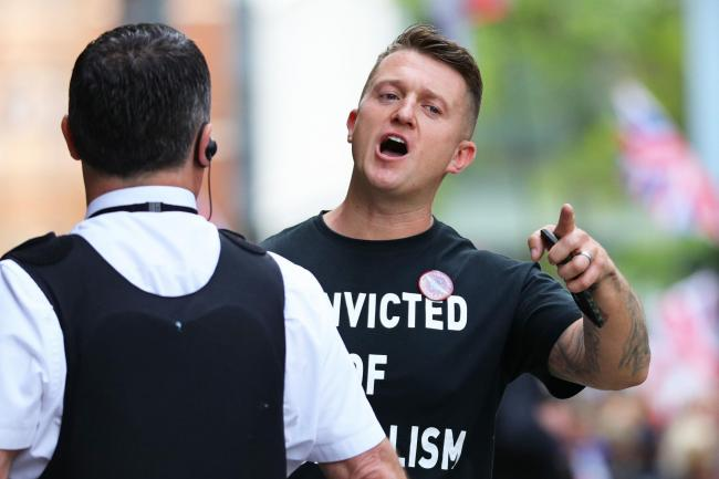 Tommy Robinson arrives for his sentencing at the Old Bailey in London. PRESS ASSOCIATION Photo. Picture date: Thursday July 11, 2019. Two senior judges found on Friday that the former English Defence League (EDL) leader was in contempt when he filmed men