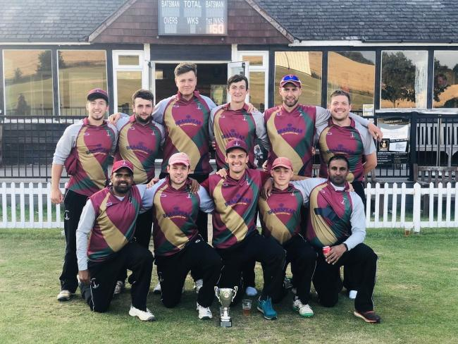 Banbury celebrate winning the Home Counties Premier League T20 title	Picture: Banbury CC