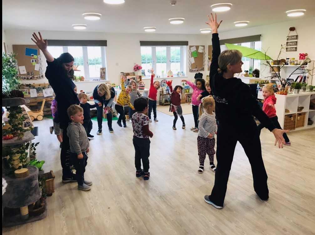 Hanborough Meadows Preschool opens in Long Hanborough