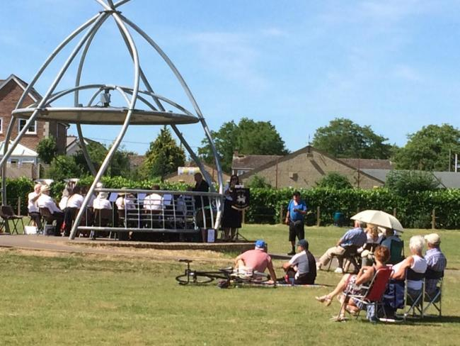 A bandstand concert was one of the main events of last year's festival Picture: Kayleigh James