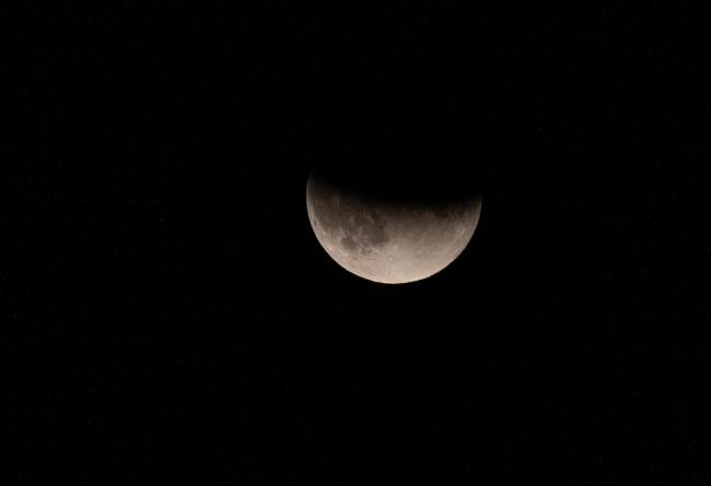 Partial lunar eclipse on Tuesday night