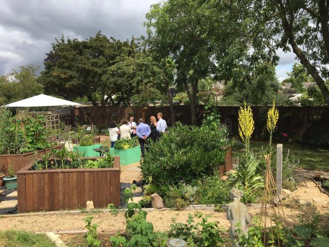 Residents get Bicester Community Garden up to scratch for regional competition judged by The Royal Horticultural Society