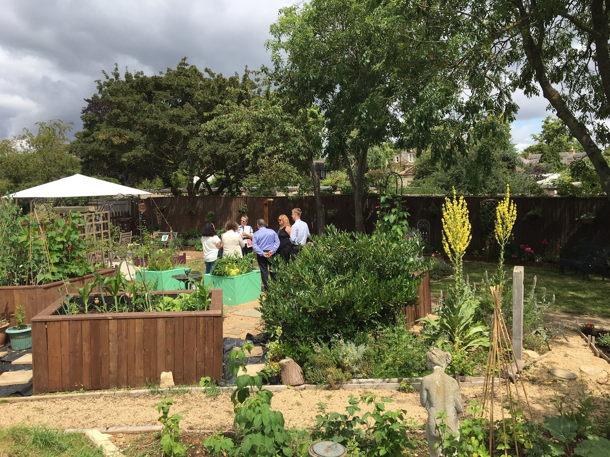 Judges take a liking to Bicester Community Garden