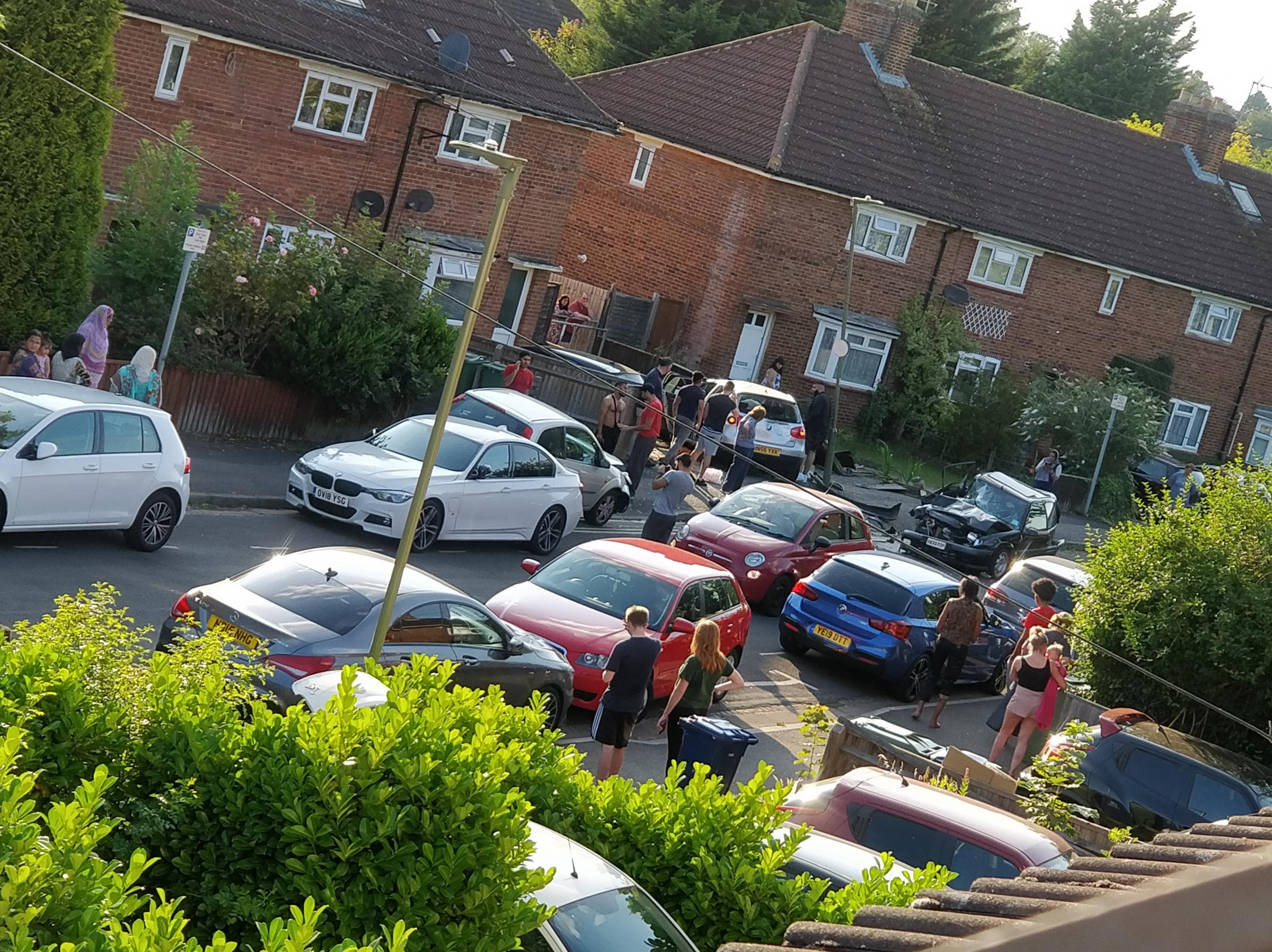 Valentia Road crash: Car was going over 70mph, say neighbours
