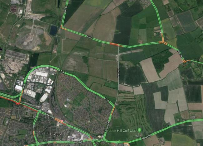 Ladygrove Road in Didcot Picture: Google Maps