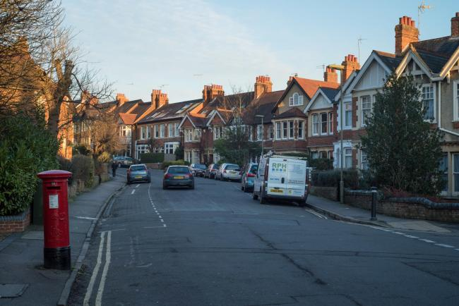 File photo of houses on Divinity Road, East Oxford.