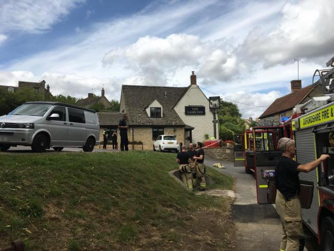 Four people injured after explosion at pub