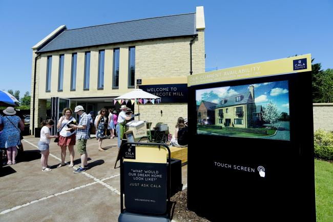 CALA Homes' Wolvercote Mill Launch Day Picture Savills/CALA Homes