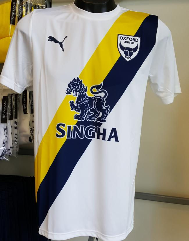 Oxford United unveil new away kit