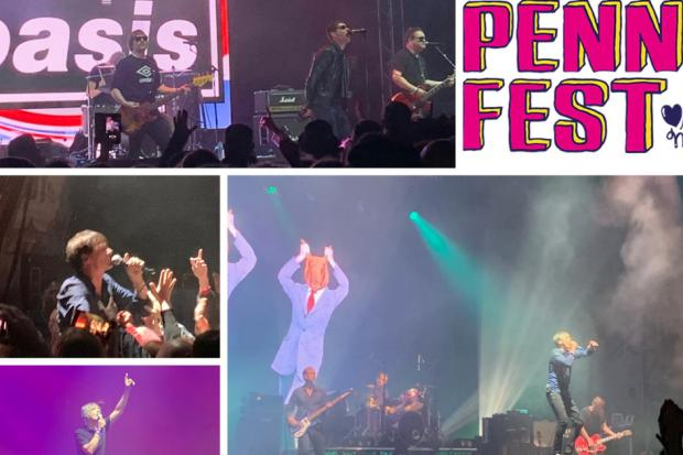 PICTURES & VIDEO: Pennfest- soggy but sensational