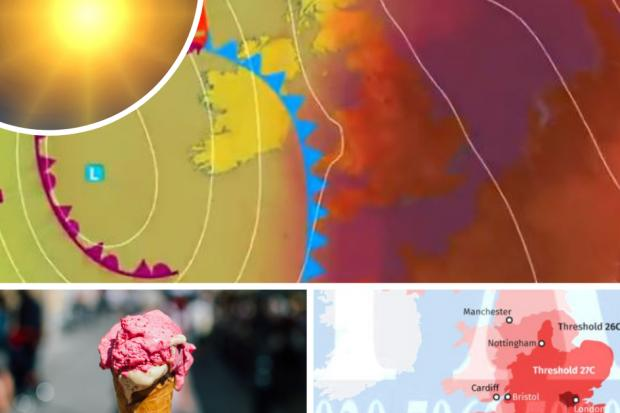 HEATWAVE comes with a health warning - how hot will it get?