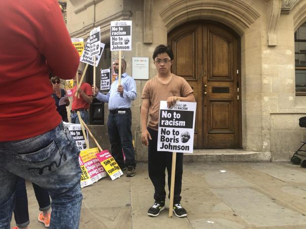 Oxford Mail: Stand up to Racism protest in Oxford