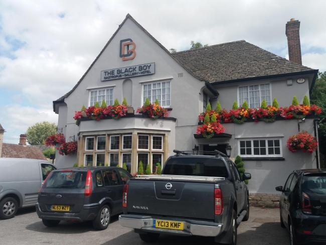 The Black Boy pub in Headington. Picture: Pete Hughes