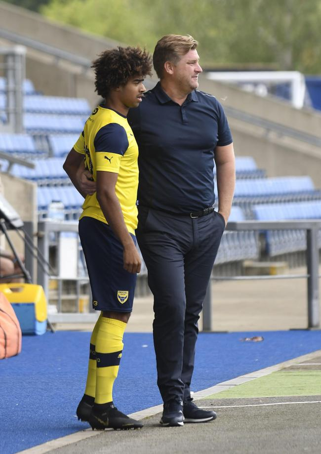 The one positive from Oxford United's lack of activity has been increased chances for the likes of Fabio Lopes (left) in pre-season Picture: David Fleming
