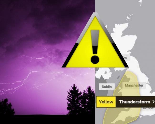 The Met Office has issued storm warnings