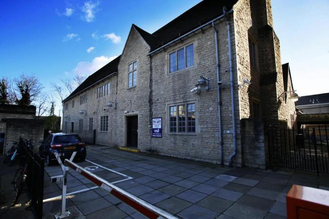 Money is being provided to support the new winter homeless shelter at Floyds Row, due to open in January. Picture: Oxford Mail