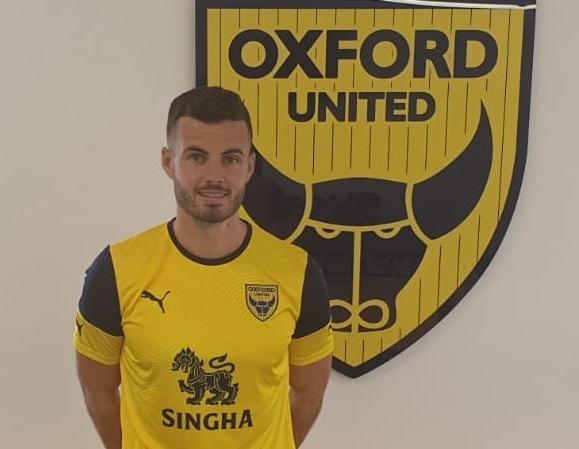 Anthony Forde at the training ground this afternoon   Picture: Oxford United