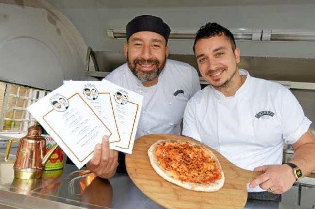 New Bicester Pizza Van The Pizza Boys Reveal Scented Menus