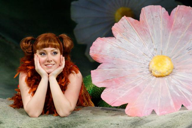 WNO The Cunning Little Vixen Sophie Bevan Vixen photo credit Catherine Ashmore 603