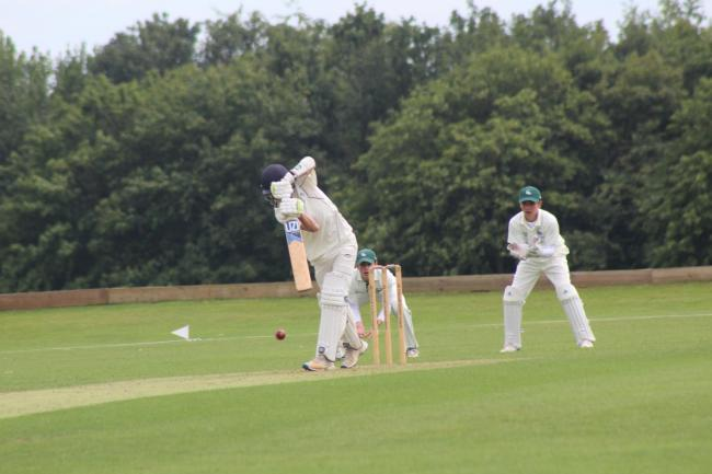 Action from Oxfordshire Under 14 boys' fixture against Berkshire