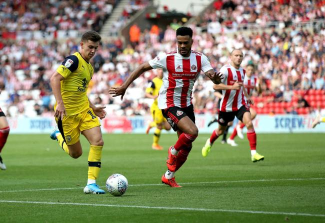 Sunderland in action against Oxford United on the opening day of the season   Picture: Richard Parkes