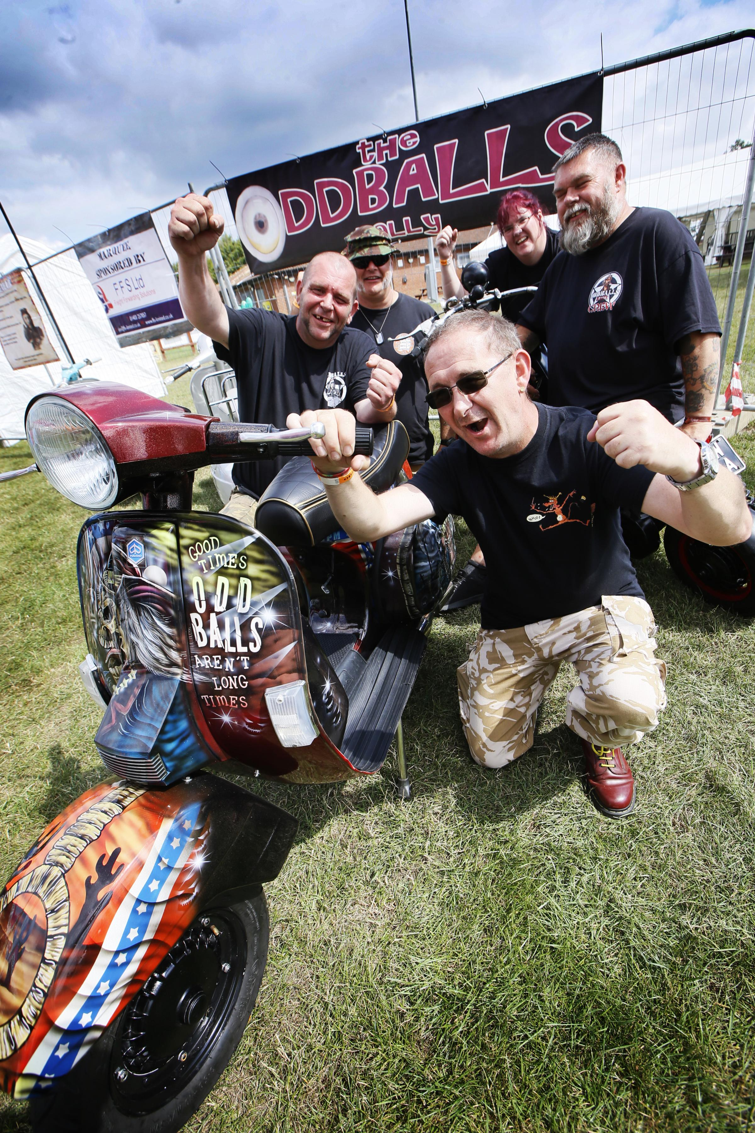 Oddballs Rally 2019 - Pictures of Abingdon's scooter spectacle